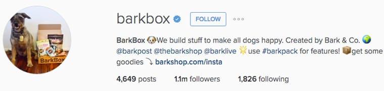 Sponsoring Instagram Bio Link