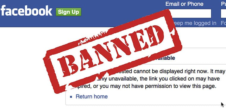facebook fanpage banned - What to do if your fan page is banned by facebook