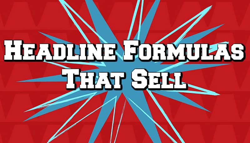 headline formulas that sell