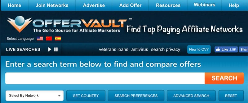OfferVault Affiliate Marketing