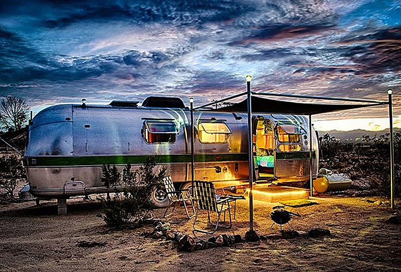 Belrepayre Airstream and Retro Trailer Park