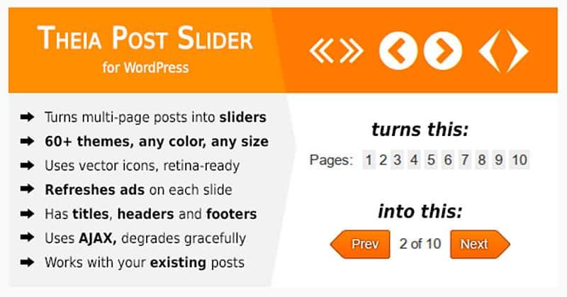 Theia Post Slider WordPress Plugin Review
