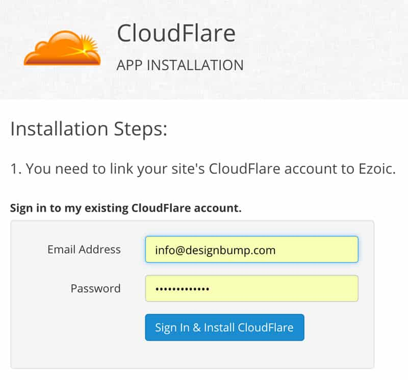 Integrate with Ezoic Using Cloudflare