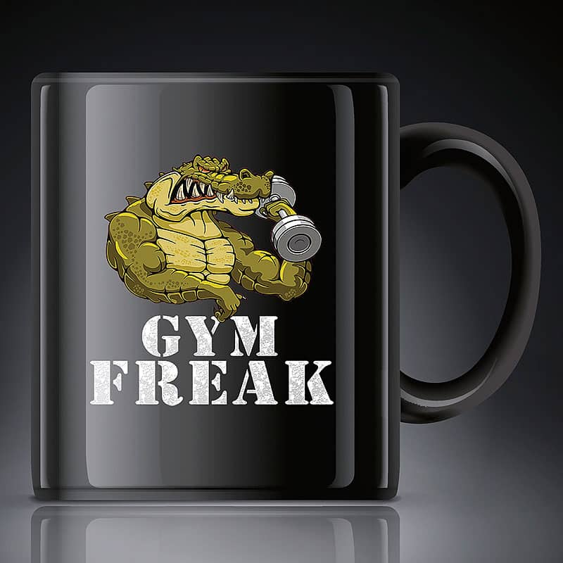 Gym Freak Coffee Mug