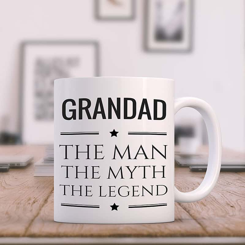 Grandad Man Myth and Legend Coffee Mug