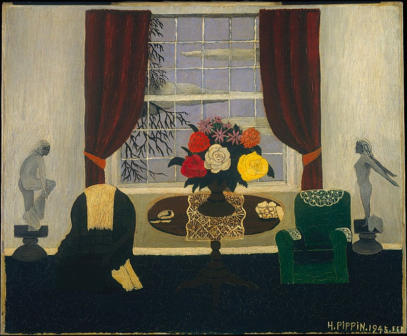 Victorian Interior I. Horace Pippin, 1945. Oil on canvas.
