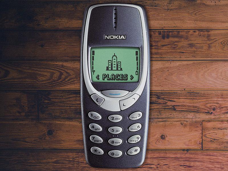 iconic Nokia 3310