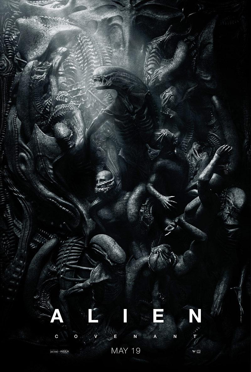 Alien Covenant Queen Poster