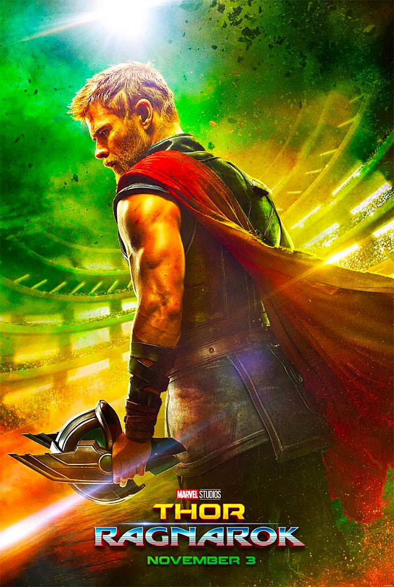 First Thor: Ragnarok Poster