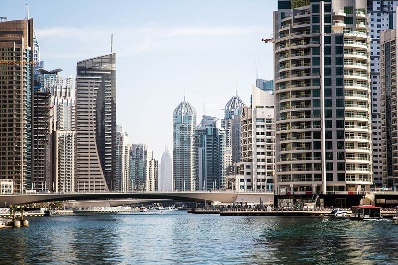 Dubai Marina : city architecture
