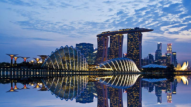 Singapore Architecture and Building Design