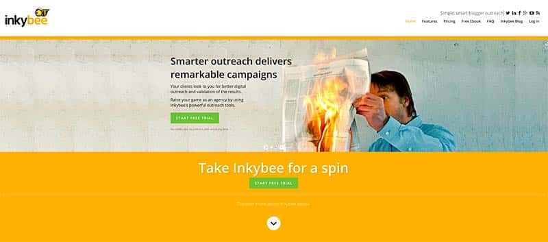Inkybee Social Outreach