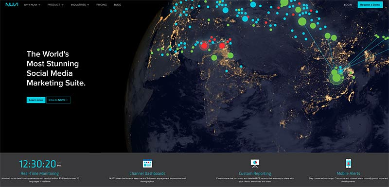Stunning Social Media Visualizations