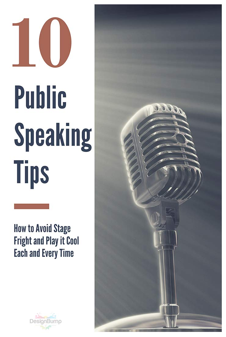 Top Public Speaking Tips