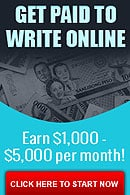 Get paid to write awesome blog posts