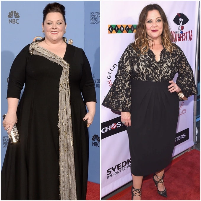 Incredible Celebrity Weight Loss Transformations -DesignBump