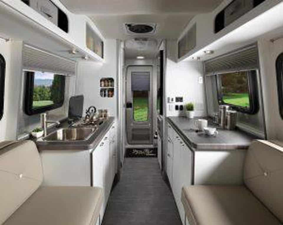 Airstream S New Mini Trailer The Nest Uses Fiberglass
