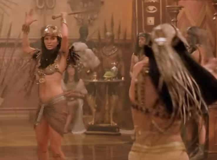 he Mummy Returns Meemas Skirt Is Not Battle Friendly