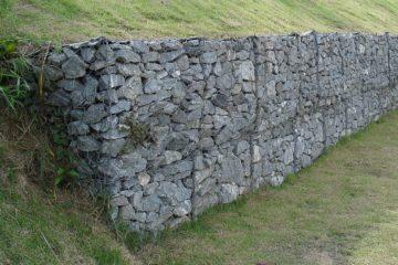 Image result for Gabion walls make a fashion statement