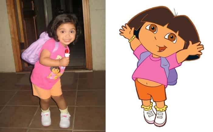 Little Dora From Dora The Explorer