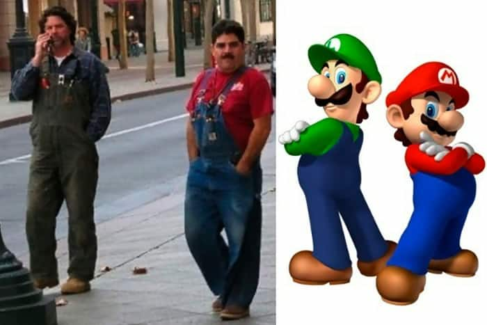 Mario Bros Lookalikes