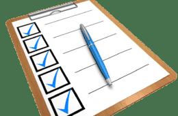 Checklist, Clipboard, Questionnaire, Pen, Computer