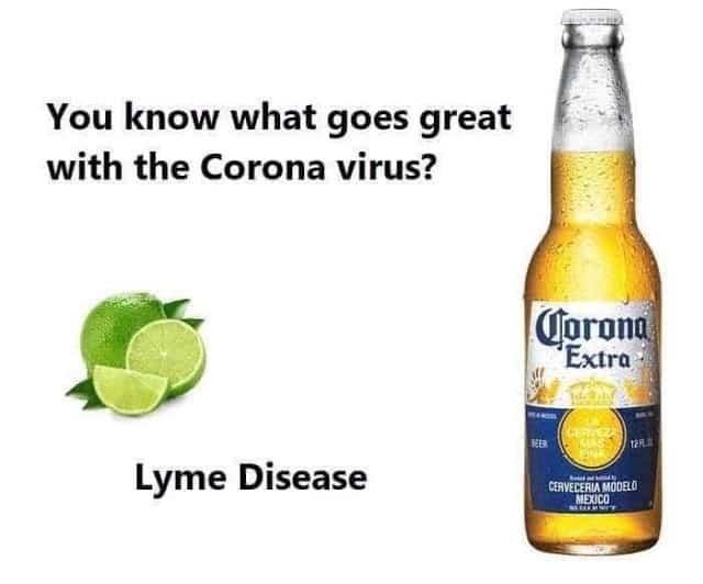 coronavirus beer meme