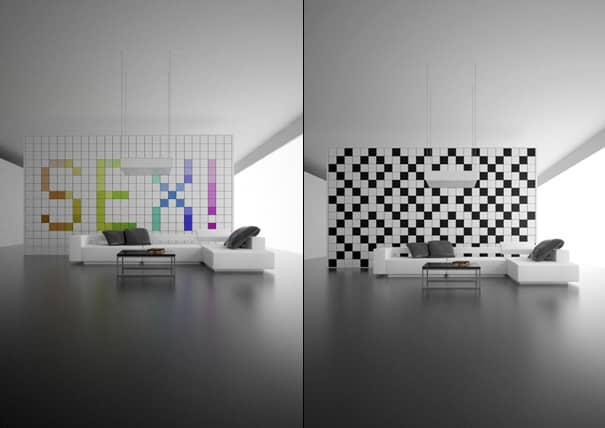12. Changeable Pixelated Designs