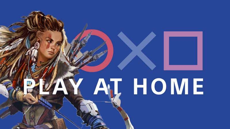 """Sony's """"Play at Home"""" Program Contributes to Social Distancing"""
